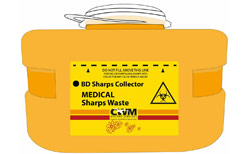 Sharps collector